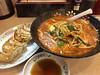 Photo:Ramen noodles in miso flavored soup & Grilled dumplings 餃子の王将 スタミナラーメンと餃子 By