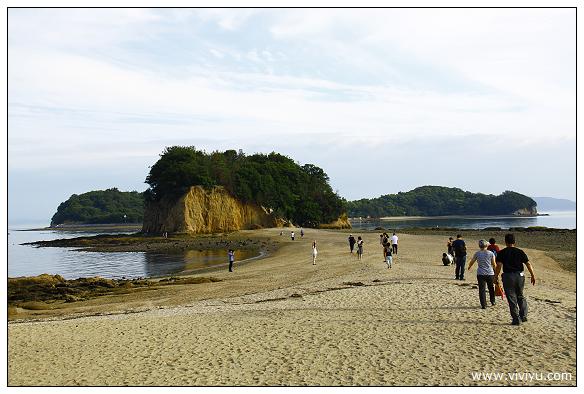 [2013日本四國]小豆島.戀人的聖地.エンジェルロード天使之路 @VIVIYU小世界