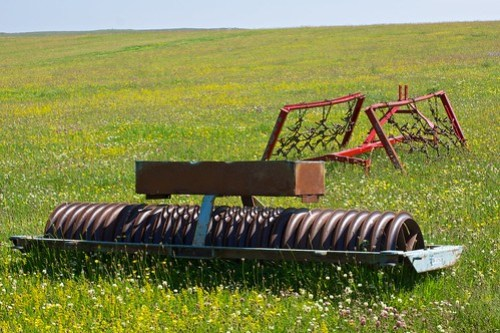 Machinery in the machair