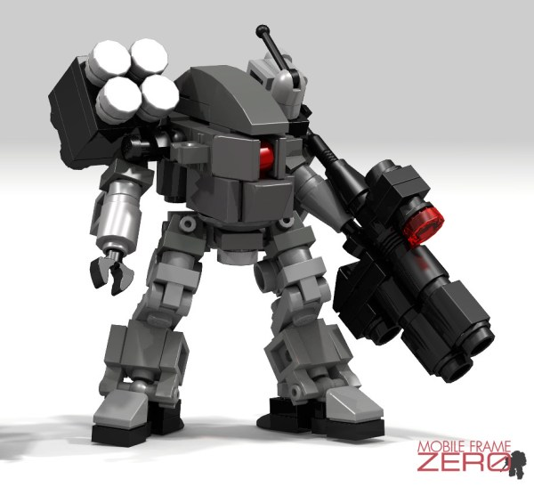 Microscale Lego Mech Instructions - Year of Clean Water
