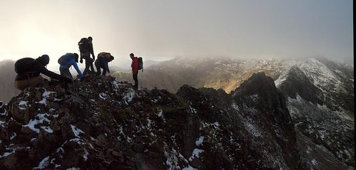 Dont Look Down: The Crib Goch Arete