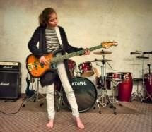 Barefoot Girls Flickr Twins Guitar