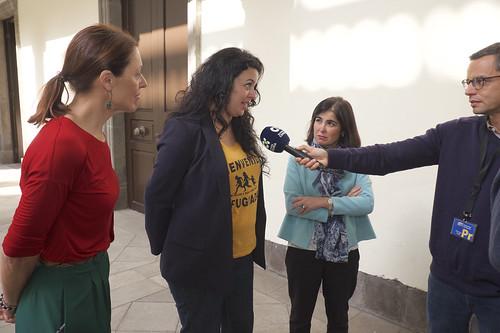 Reunión con la ONG Bienvenidos Refugiados Canarias (17/03/2017)