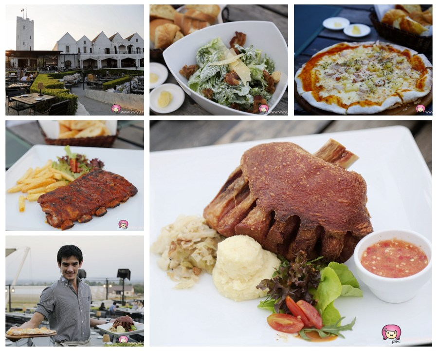 Midwinter Green,德國烤豬腳,拷艾美食,曼谷近郊,泰國拷艾,泰國美食 @VIVIYU小世界