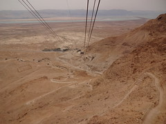 Masada - the Snake Path to the top