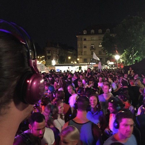 #Marienplatzfest  silent #Disco  @ #Marienplatz #0711 #Stuttgart