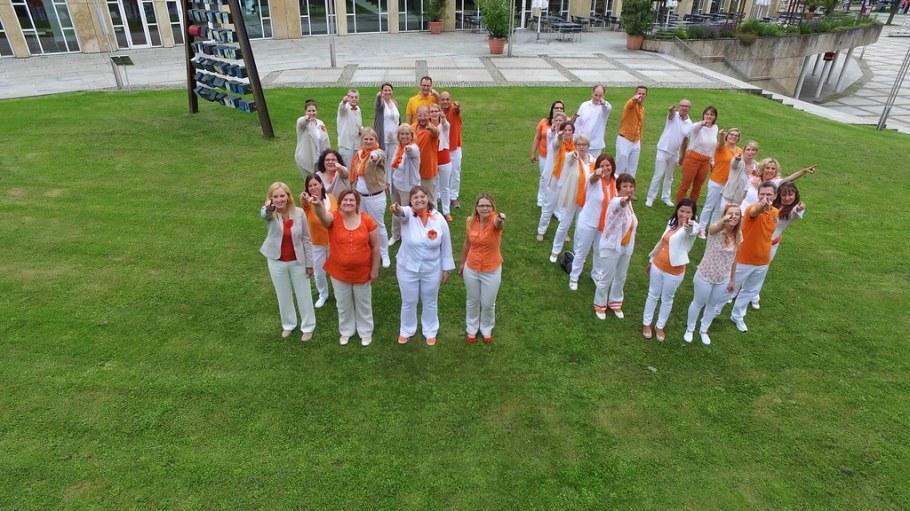 2016-06-20 Videodreh 20 Jahre Abendsterne, Forum am Schlosspark Ludwigsburg, 20. Juni 2016