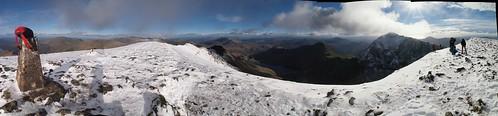 Garnedd Ugain Panorama