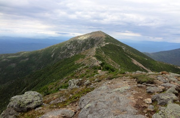 The Franconia Ridge Trail Approach of Mt. Lafayette