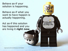 Solution Finding Stimulus-Behave as-if your so...