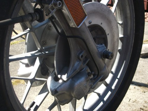 small resolution of bmw r80 7 right front caliper ian beat tags wheel front