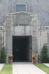 Hope Mausoleum from cemetery side