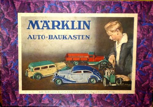 Märklin Autobaukasten (scatola montaggio auto)