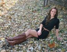 Brunette Country Girl Dresses