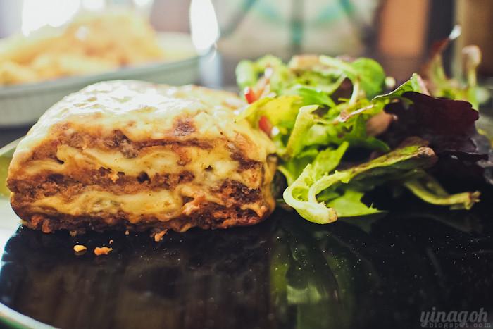 Kooka Cafe Lasagna