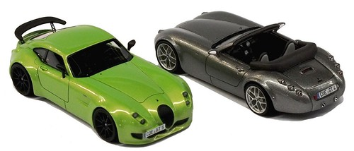 Schuco Wiesmann MF5 Coup+® GT & roadster