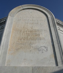Italian Mutual benevolent tomb inscription