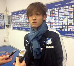 Takashi Usami von der TSG Hoffenheim (2)