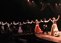 """A scene from the Music Circus production of """"Fiddler on the Roof"""" at the Wells Fargo Pavilion Aug 14-19. Photo by Charr Crail."""
