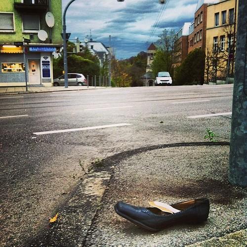Verlorner Schuh