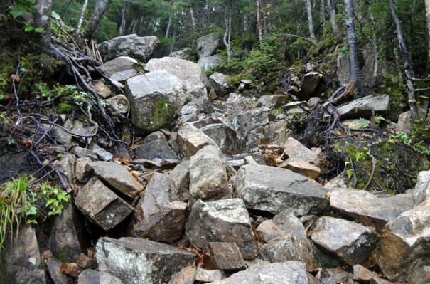 Rocky Garfield Ridge Trail Ledge