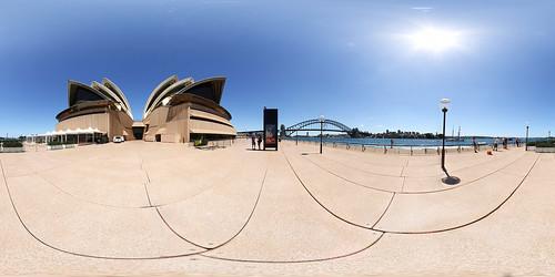 Sydney Oper Panorama