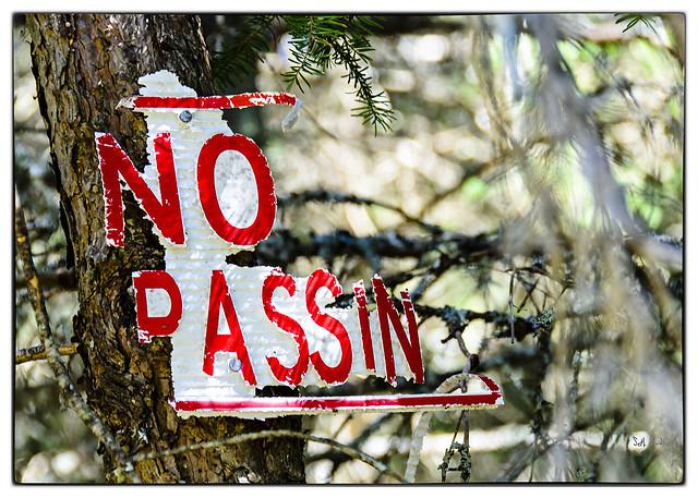 No Passin
