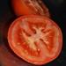 Halved tomato