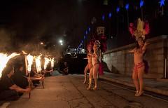 SamaViva performs at the Steeple Street Stage