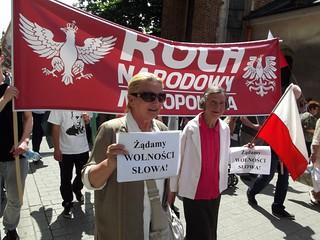 Marsz ulicami Krakowa