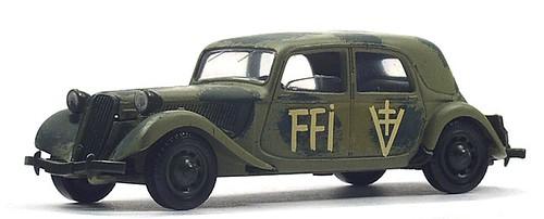 Solido Citroën 15 militare