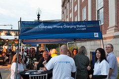 National Grid's Courtesy Phone Charging Station