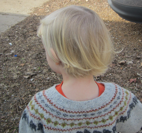 Elijah haircut