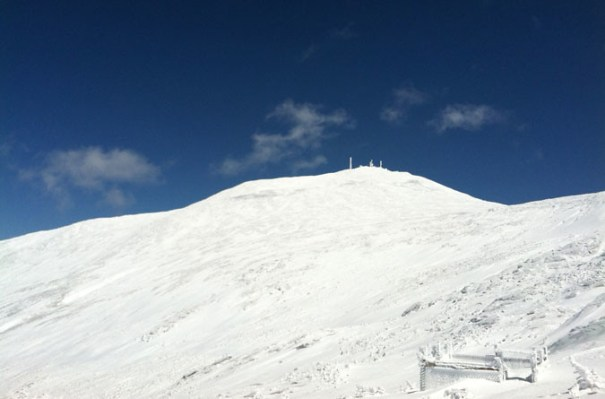 Mt. Washington Snow Cone