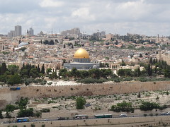 Temple Mount from Mount of Olives