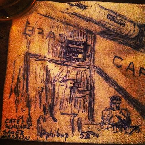 CAFÉ SCHWARZ SAUER II #B3RLIN