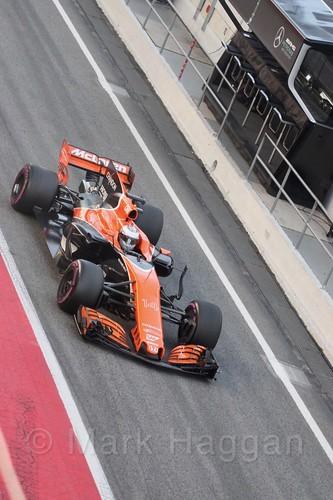 Fernando Alonso in Formula One Winter Testing 2017
