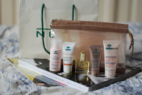 Nuxe Travel Kit Contents