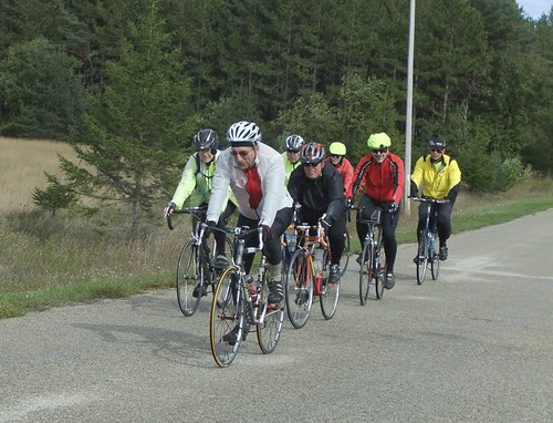 HBC members enjoying autumn biking in Door County