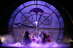 Cast of WICKED in the Broadway Sacramento presentation at the Sacramento Community Center Theater May 28 - June 15, 2014.