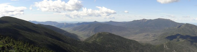 North Twin Mountain View Panoramic