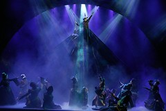 Cast of WICKED in the Broadway Sacramento presentation at the Sacramento Community Center Theater May 28 - June 15, 2014. Photo by Joan Marcus.