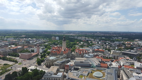 "The city from Panorama Tower - Leipzig, Germany • <a style=""font-size:0.8em;"" href=""http://www.flickr.com/photos/104409572@N02/20063038930/"" target=""_blank"">View on Flickr</a>"