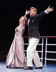 Vicki Lewis and David Elder in Anything Goes at Music Circus July 26-31. Photo by Charr Crail.