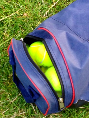 Today is all about...rounders practice session