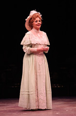 """Shirley Jones as Mrs. Paroo in the Music Circus production of """"The Music Man"""" at the Wells Fargo Pavilion July 31 - Aug 5. Photo by Charr Crail."""
