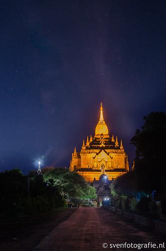 Htilo Minlo Temple at dawn