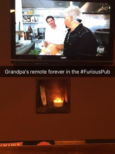 Grandpa's remote