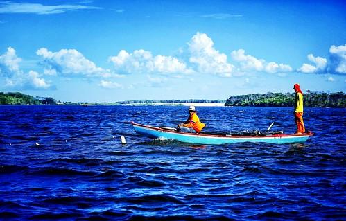 Pelas águas do Rio Preguiças, Barreirinhas - Maranhão