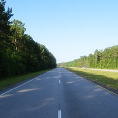 The Road Ahead. Day 57. Rt.17 in Awendaw, SC. Getting put up tonight by a fellow Moravian Alum. #TheWorldWalk #travel #moravian #sc #wwtheroadahead
